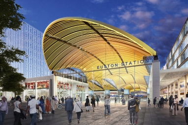 Euston Station HS2 revised plans