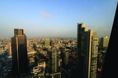 The Tricky Bit - the London Skyline