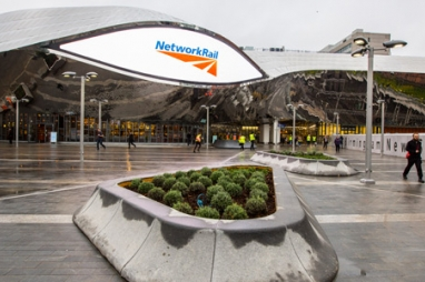 The new Birmingham New Street station led to the building of 2,000 extra homes and 14,000 jobs being created.