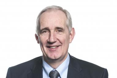 Balfour Beatty chief executive, Leo Quinn.