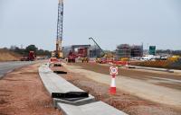 A14 ground progress. Photo: Highways England.