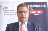 Business secretary Alok Sharma has thanked the construction industry for its invaluable contribution in supporting the economy during the Covid-19 pandemic.