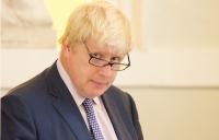 London Mayor Boris Johnson at the launch of the air quality manifesto