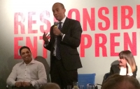 Shadow business secretary Chuka Umanna addresses the MacAslan Responsible Entrepreneurship event