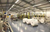 The fully Covid-compliant manufacturing hub in Northampton delivered by Atkins and Faithful+Gould.