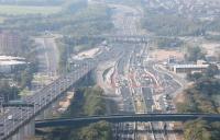 Dartford Crossing - new road layout