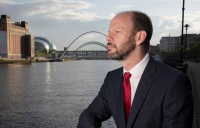 """""""We need the Northern Powerhouse promises to be fulfilled,"""" says Jamie Driscoll, North of Tyne mayor."""