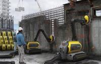 ERO-Concrete's recycling robot