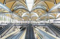 Artist's impression of the new Euston station for HS2.