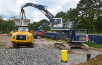 HS2 takes extra 24,000 HGVs off Buckinghamshire roads as new rail freight depot opens.