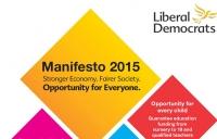 Lib Dems manifesto