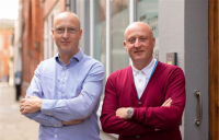 Simon Toplass, left, CEO of Pagabo, with executive chairman Gerard Toplass.
