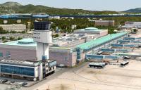 Olbia Costa Smeralda Airport in Sardinia.