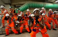 Happiness at the Victoria Upgrade project