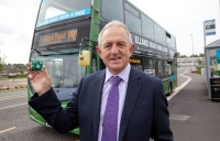 Keith Wakefield at the Elland Road park and ride scheme in Leeds.
