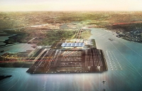 Thames Hub - a brand new four runways airport for the London