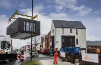 Project marks first time that Nottinghamshire County Council has released land for a factory-built housing development.