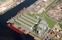 The biomass plant will be based at Teessport between Redcar and Middlesbrough.