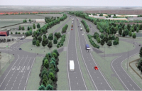 The Testo's roundabout improvement scheme at Boldon - one of the projects CECA North East wants to see brought forward.