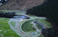 Chapelton Dam features an innovative baffled crump weir control structure