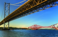 Forth Road bridge reach 50 years old