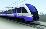 Crossrail train exterior
