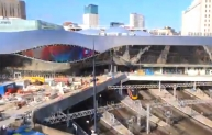 Birmingham New Street time lapse video