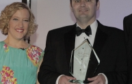 Peter Ayres, AECOM - professional engineer winner