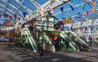 Tynemouth Metro station.